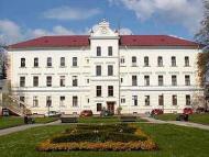 Psychiatrická léčebna Šternberk: psací a výtvarné potřeby.