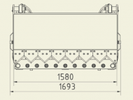 Vykusovač 1580